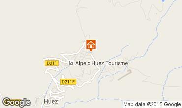 Mapa Alpe d'Huez Estudio 96346