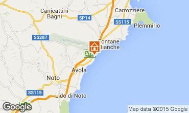 Mapa Avola Villa 94530