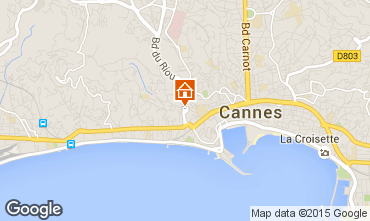 Mapa Cannes Apartamento 93218