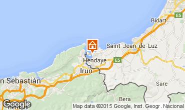 Mapa Hendaya Apartamento 99251