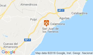 Mapa San Juan de los Terreros Apartamento 116601