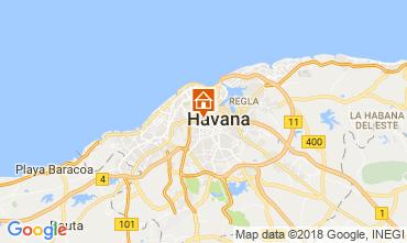 Mapa La Habana habitación de huéspedes 113566