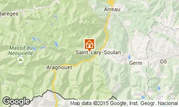 Mapa Saint Lary Soulan Apartamento 73955