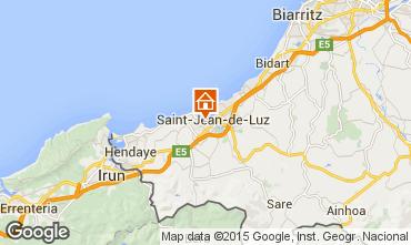 Mapa San Juan de Luz Apartamento 22188