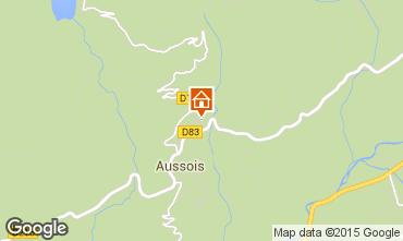 Mapa Aussois Casa rural 58490