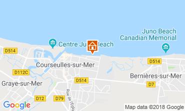 Mapa Courseulles-sur-Mer Apartamento 116398