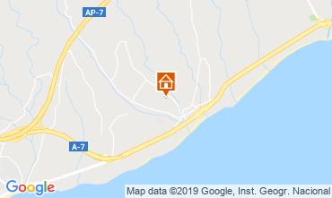 Mapa Estepona Villa 119361