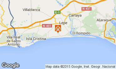 Mapa Islantilla Villa 64975