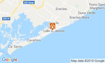 Mapa Jesolo Apartamento 75928