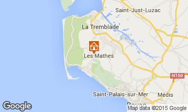 Mapa La Palmyre Mobil home 80969