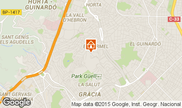 Mapa Barcelona Apartamento 76768