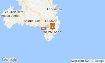 Mapa Sainte Anne (Martinique) Villa 107589