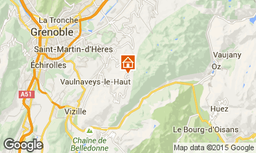 Mapa Chamrousse Apartamento 36119