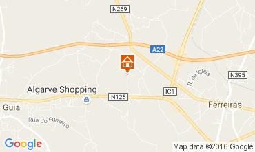 Mapa Albufeira Villa 58250
