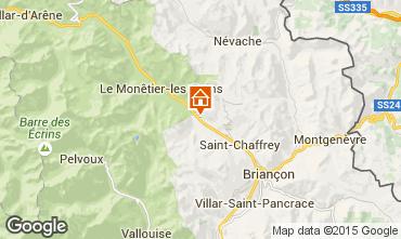 Mapa Serre Chevalier Chalet 2883