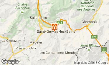 Mapa Saint Gervais Mont-Blanc Estudio 92222