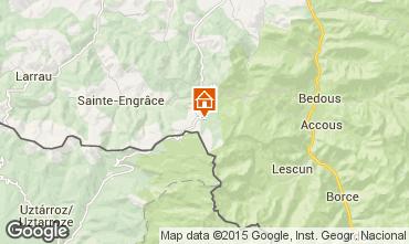 Mapa Arette La Pierre Saint Martin Apartamento 3945
