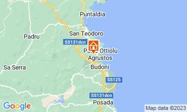 Mapa Budoni Apartamento 113467