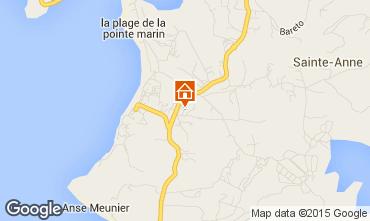 Mapa Sainte Anne (Martinique) Apartamento 8128