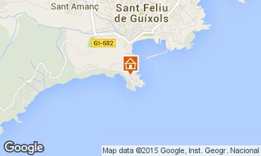 Mapa Playa d'Aro Apartamento 55194