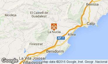 Mapa Altea Villa 87551