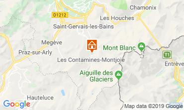 Mapa Les Contamines Montjoie Chalet 923