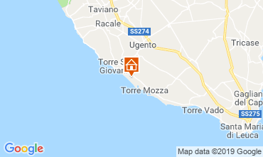 Mapa Ugento - Torre San Giovanni Villa 104522