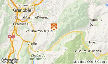 Mapa Chamrousse Chalet 39409