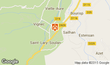 Mapa Saint Lary Soulan Apartamento 4488