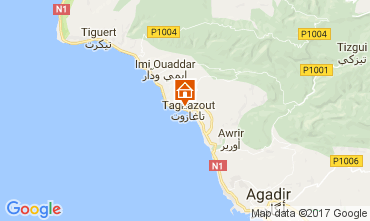 Mapa Agadir Apartamento 17091