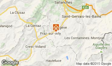 Mapa Megève Apartamento 97155