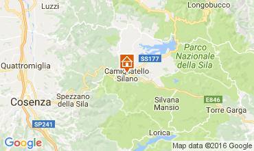 Mapa Camigliatello silano Apartamento 39179