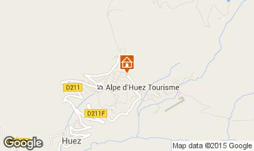 Mapa Alpe d'Huez Apartamento 31403