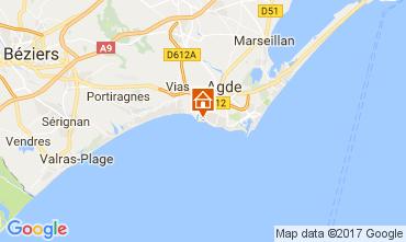Mapa Agde Villa 111992