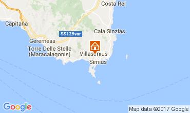 Mapa Villasimius Apartamento 109007