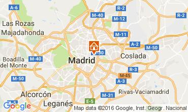 Mapa Madrid Apartamento 65875
