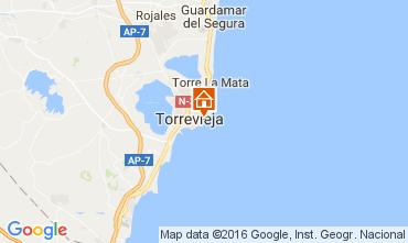 Mapa Torrevieja Apartamento 91265