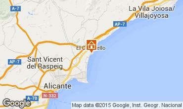 Mapa Alicante Apartamento 8201