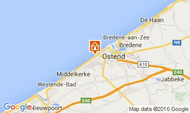 Mapa Ostende Apartamento 104009