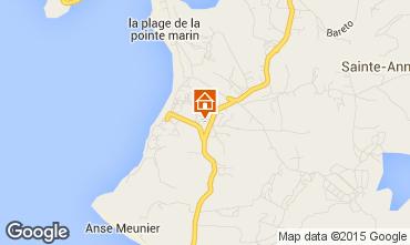Mapa Sainte Anne (Martinique) Apartamento 58877