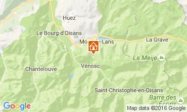 Mapa Les 2 Alpes Estudio 107074