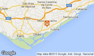 Mapa Olhão Casa rural 72885