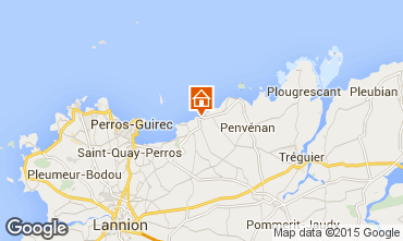 Mapa Perros-Guirec Apartamento 79685