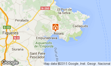 Mapa Rosas Apartamento 88068