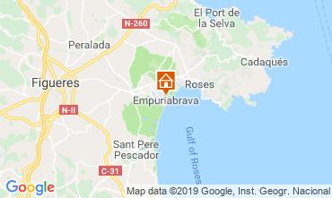 Mapa Ampuriabrava Apartamento 118477