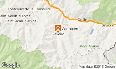 Mapa Valloire Apartamento 83091