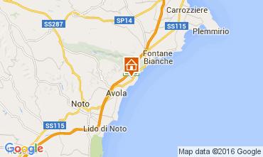 Mapa Avola Villa 104217