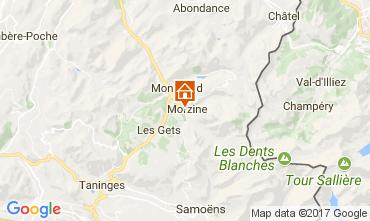 Mapa Morzine Apartamento 110961
