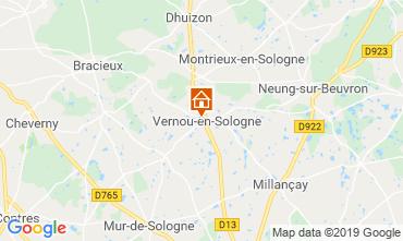 Mapa Chambord Casa rural 119080