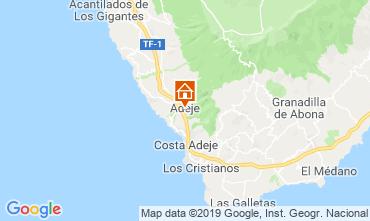 Mapa Los Cristianos Apartamento 119501